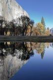Merced flod, Yosemite Fotografering för Bildbyråer
