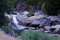 merced flod yosemite Arkivfoto