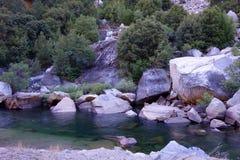 merced flod yosemite Royaltyfria Foton