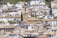 Merced kyrka i Cazorla, Jaen, Spanien Royaltyfri Bild