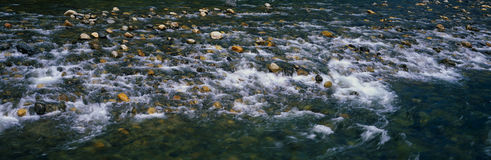 Merced River flowing Royalty Free Stock Photography