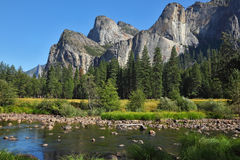 merced River Valley стоковое изображение rf