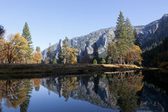 Merced River, Yosemite Royalty Free Stock Photo