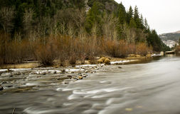 Merced River in Yosemite Royalty Free Stock Image