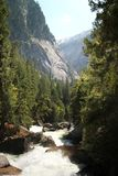 Merced river Royalty Free Stock Image