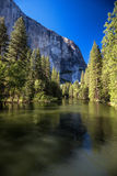 Merced river, Yosemite National Park royalty free stock photos