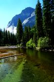 Merced River in Yosemite Park Royalty Free Stock Photography