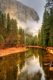 Merced River Yosemite Valley Royalty Free Stock Images