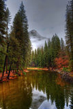 Merced River Yosemite Valley Royalty Free Stock Photography