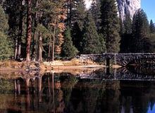 Merced River, Yosemite. Royalty Free Stock Image