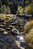 Merced rzeka, Yosemite Obrazy Royalty Free