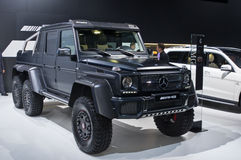 Mercedec-Benz G 63 AMG 6x6 Royalty Free Stock Images