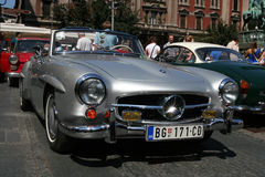 Mercedes 190 sl Stock Photography