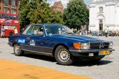 Mercedes 1977 450 SLC Immagini Stock