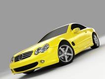 Mercedes 500 sl Obraz Royalty Free