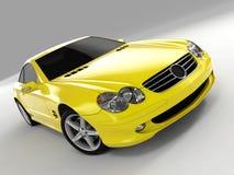 Mercedes 500 sl Obrazy Royalty Free