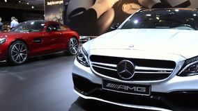 Mercedes-AMG C 63 gods stock video