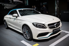 Mercedes-AMG C 63 S Cabriolet car Stock Photo