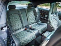 Mercedes-AMG C 63 s-Coupé Seat Royalty-vrije Stock Afbeeldingen