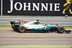 Mercedes AMG F1 Fotografía de archivo