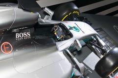 Mercedes-AMG F1 W08 EQ Power cockpit view Stock Photo