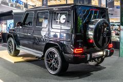 Mercedes-AMG G 63, Second generation, W463, G-class off-road car produced by Mercedes-Benz royalty free stock image