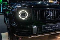 Mercedes-AMG G 63, segunda generaci?n, W463, coche campo a trav?s de la G-clase producido por Mercedes-Benz fotos de archivo