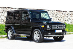 Mercedes AMG G55 V8 KOMPRESSOR Photo stock