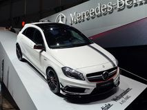 Mercedes A45 AMG Royalty Free Stock Photo