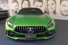 Mercedes AMG GT Ρ supercar στην επίδειξη στοκ εικόνες