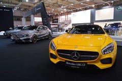 Mercedes AMG GT Stock Afbeeldingen