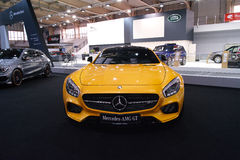 Mercedes AMG GT Stock Foto