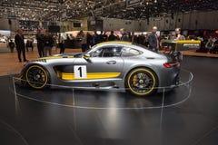 Mercedes-AMG 2015 GT3 Immagini Stock