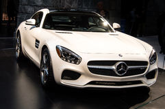 Mercedes 2017 AMG GT imagens de stock royalty free