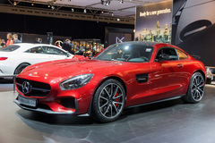Mercedes-AMG GT Royalty Free Stock Photo