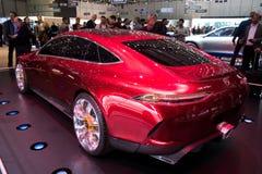 Mercedes AMG GT concept car Royalty Free Stock Photos