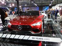 Mercedes-AMG, The GT Concept Royalty Free Stock Image