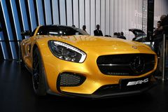 The Mercedes AMG GT Stock Photos