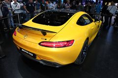 The Mercedes AMG GT Royalty Free Stock Photos