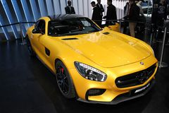 The Mercedes AMG GT Royalty Free Stock Photo
