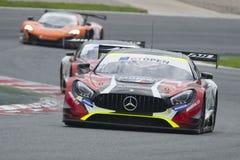 Mercedes AMG GT3.  International GT Open Stock Photos