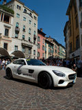 Mercedes AMG GT at Mille Miglia 2015 Stock Photos