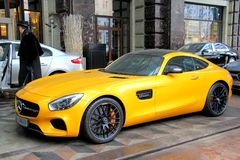 Mercedes-AMG GT Stock Images