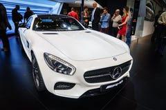 Mercedes-AMG GT3, Motorshow Geneve 2015 Stock Foto's