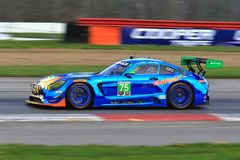 Mercedes-AMG GT3 Motorsports. No75 SunEnergy1 Racing Mercedes-AMG GT3 Stock Photos