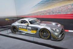 Mercedes-AMG GT3 Race Royalty Free Stock Photos