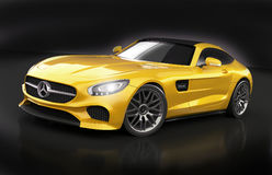 Mercedes Amg GT 2015 restyled Royalty Free Stock Photos