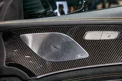 Mercedes AMG GT 63 S Arkivbilder