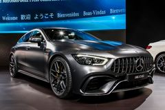 Mercedes AMG GT 63 S photo stock