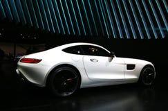 Mercedes 2016 AMG GT S am NAIAS 2015 Lizenzfreies Stockfoto